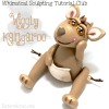 Wiggly Polymer Clay Kangaroo Tutorial by KatersAcres