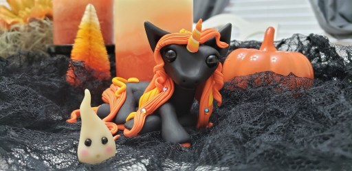 Halloween Unicorn by Farm Girl Folly