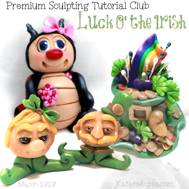 Premium Sculpting Club Tutorials - March 2020 - Luck O the Irish