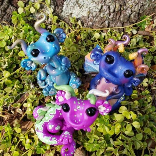 Starry Dragon Set by Farm Girl Folly