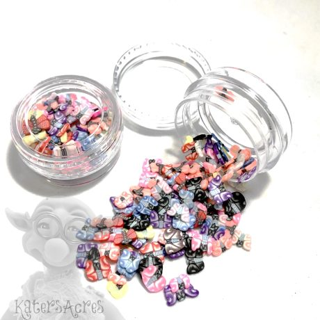 Millefiori BUTTERFLY Cane Slices - 3g Small Jar