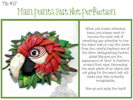 TIPS CARD 17 - Main Points but Not Perfection