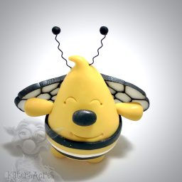 Parker Bumble Bee Flying Ornament by Kater's Acres
