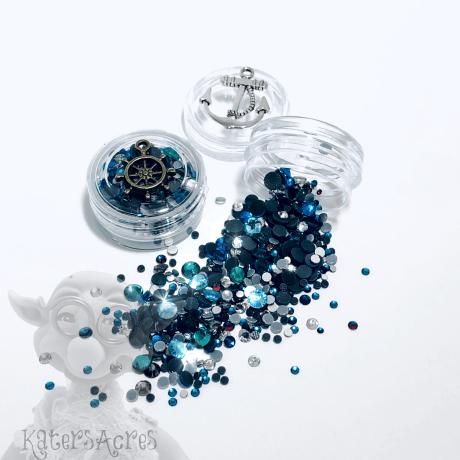 Ocean Bubbles Mini Jar of Crystals