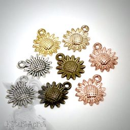 Sunflower Charms from Kater's Acres