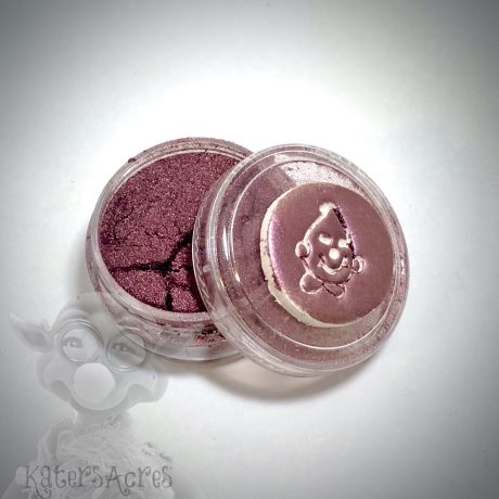 MERLOT (Deep Burgundy) Mica Powder for Polymer Clay from Kater's Acres