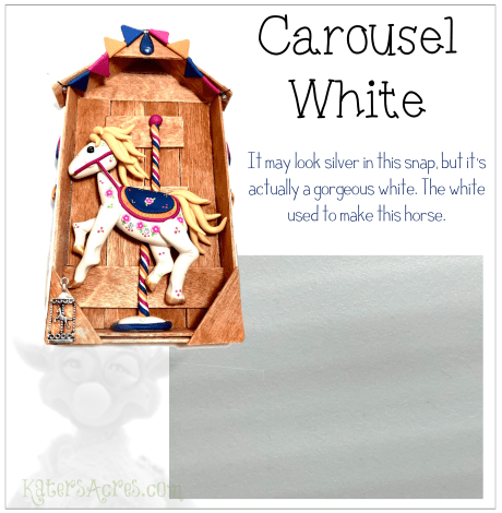 Carousel White Color Recipe from Kater's Acres