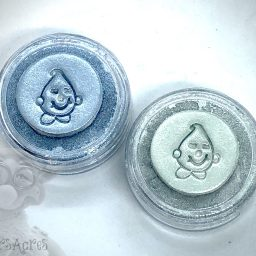 Underwater Mica Powder Duo of Bubble Blue & Seafoam from Kater's Acres