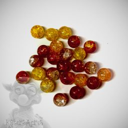Fall Glass Beads from KatersAcres