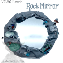 Rock Mirror VIDEO Tutorial by KatersAcres