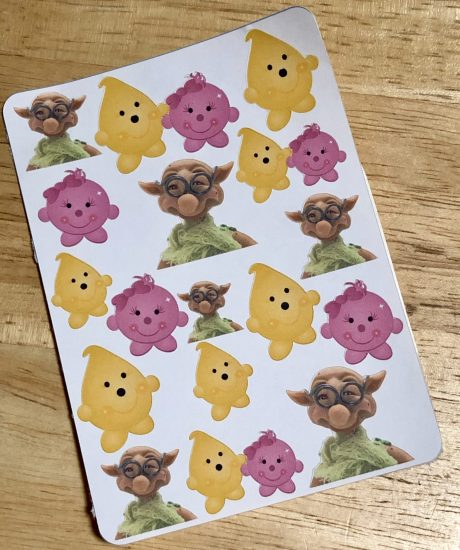 Parker, Lolly, & Spex on ONE Sheet, Planner Stickers from Kater's Acres