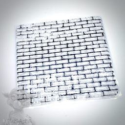 Brick Texture & Background Stamp for Polymer Clay from Kater's Acres