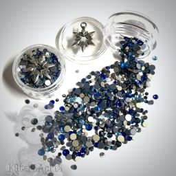 Blizzard Crystals Mini Jar Polymer Clay Supplies from Kater's Acres