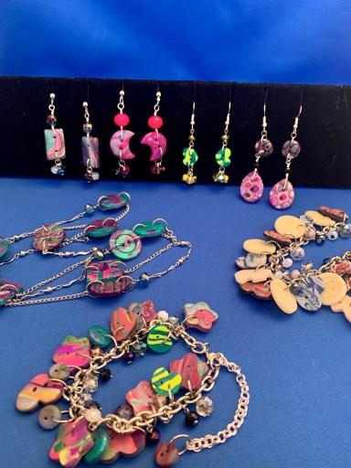 Monica's Polymer & Button Jewelry
