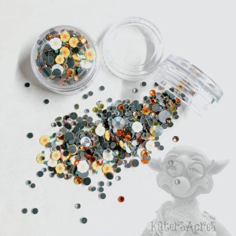 Daisy Crystal Mini Jar from Kater's Acres