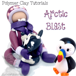 Polymer Clay BUNDLE PACK - Arctic Blast