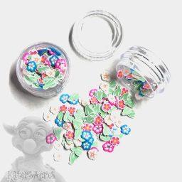 Millefiori Cactus & Flowers Mini Jars from Kater's Acres