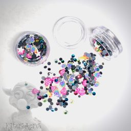 Salt Water Fish Crystals & Slices Mini Jar from Kater's Acres