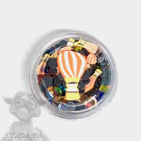 Hot Air Balloon Crystals & Slices from Kater's Acres