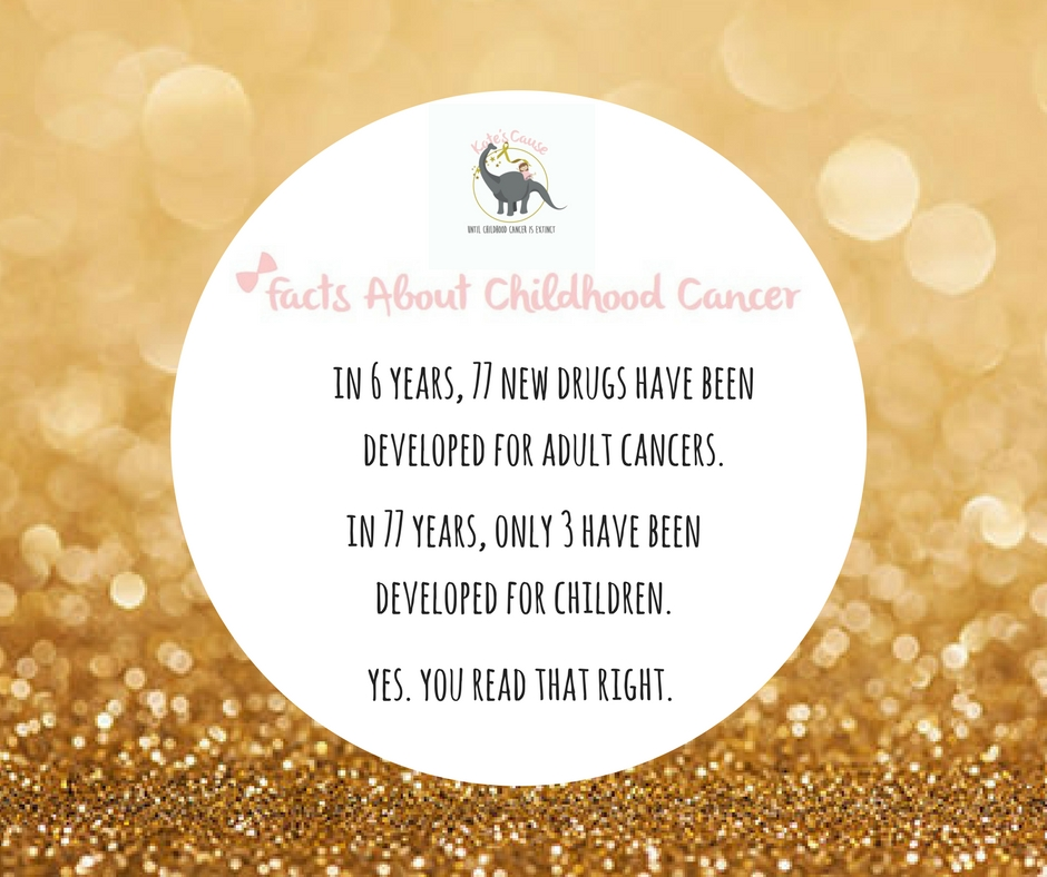 Childhood Cancer Awareness Month – Day 5