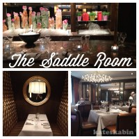 Lunch at The Saddle Room in The Shelbourne Hotel