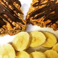 Healthy (ish!) Banana & Nut Flapjacks