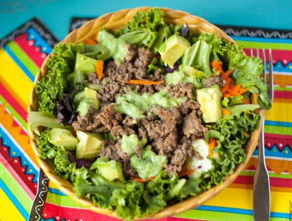Bulletproof Taco Salad