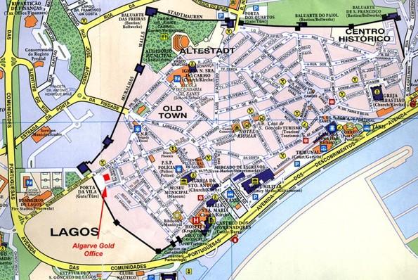 map of lagos