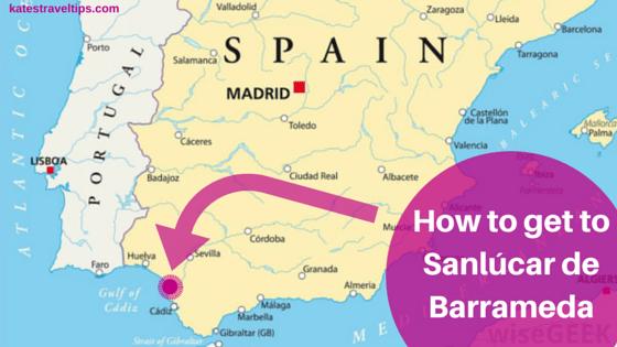 how to get to sanlucar de barrameda