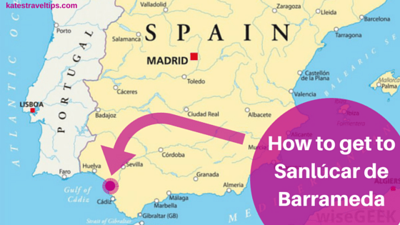 getting to sanlúcar de barrameda