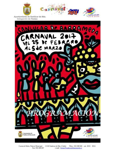 2017 Carnaval poster