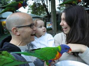 Kids are like parrots!
