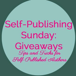 self publishing giveaways