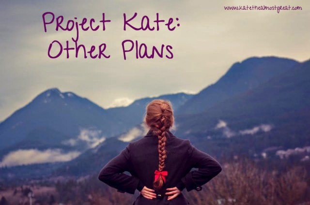Project Kate: other plans