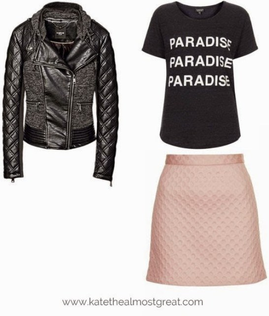 Motorcycle jacket fall fashion trends Kate the (Almost) Great