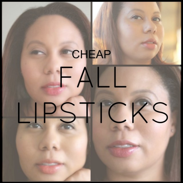 Natual and Sheer Lipsticks and Balms | Inexpensive Fall Lipsticks (Mostly Drugstore Brands)
