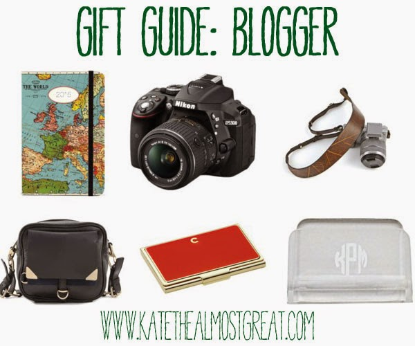 Blogger Gift Guide Kate the (Almost) Great