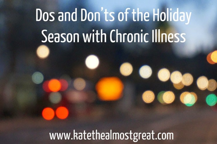 Dealing with Chronic Pain: Holidays