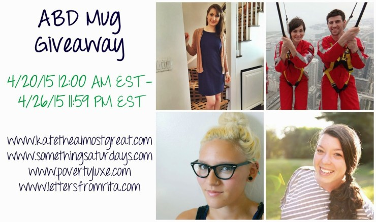 Ashley Brooke Designs Mug Giveaway - Kate the (Almost) Great