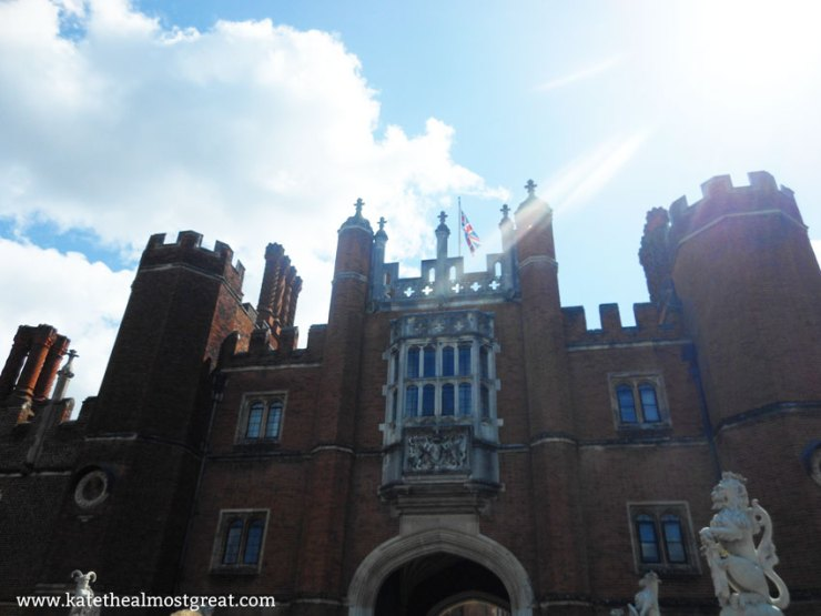 Hampton Court Palace - Kate the (Almost) Great