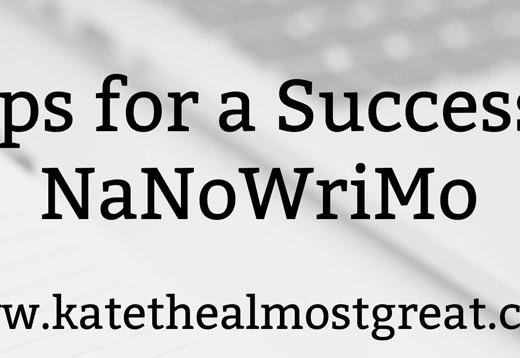 6 NaNoWriMo Tips