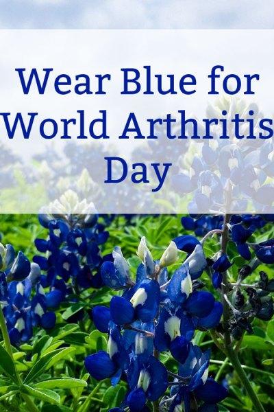Wear Blue on World Arthritis Day