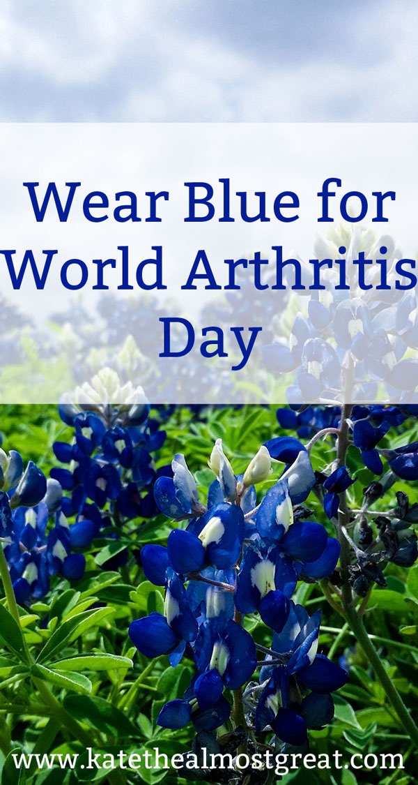 Wear Blue on World Arthritis Day