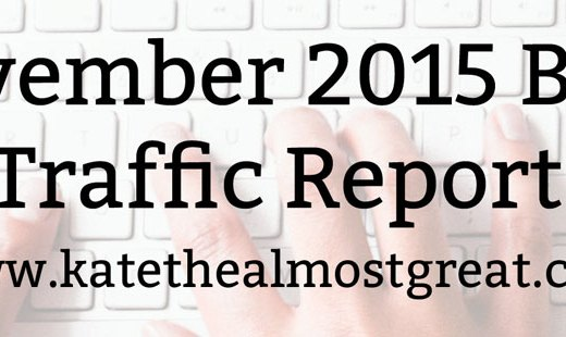 Did I Get More Blog Traffic in November?