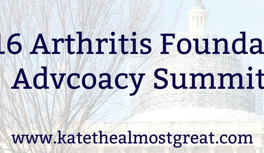 2016 Arthritis Foundation Advocacy Summit