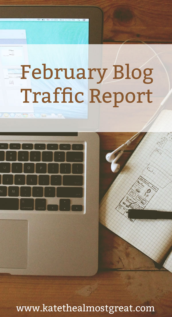 Increase Blog Traffic: February Blog Traffic Report
