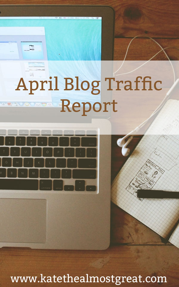 April Blog Traffic Report | Kate the (Almost) Great