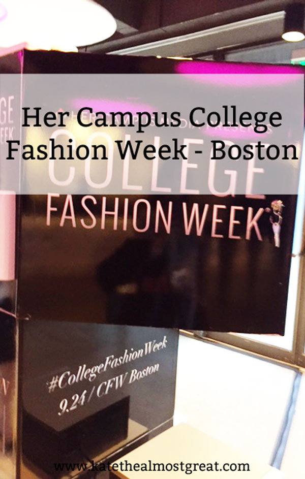 Her Campus College Fashion Week Recap