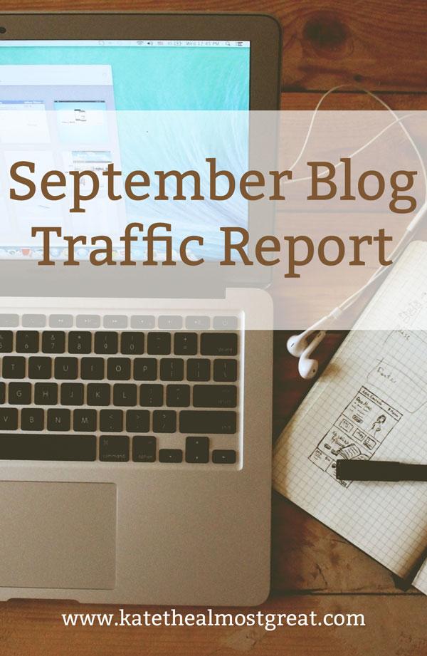 Blog Traffic Report: September 2016