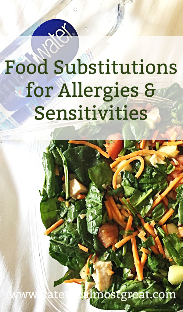 Food Substitutions for Allergies & Sensitivities